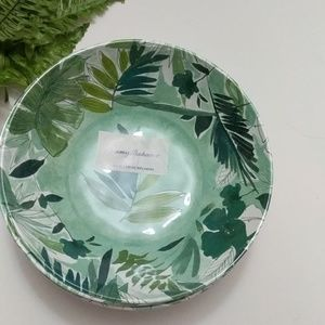Tommy Bahama Melamine Pasta 4/ bowls  Fall Leaves